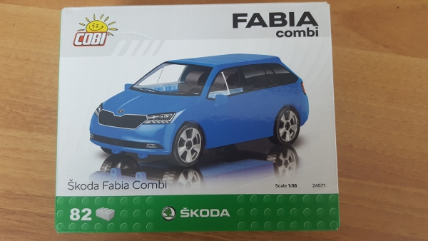 Modellbauset Fabia 3 Combi