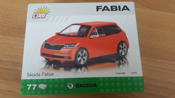 Modellbauset Fabia 3 Limousine