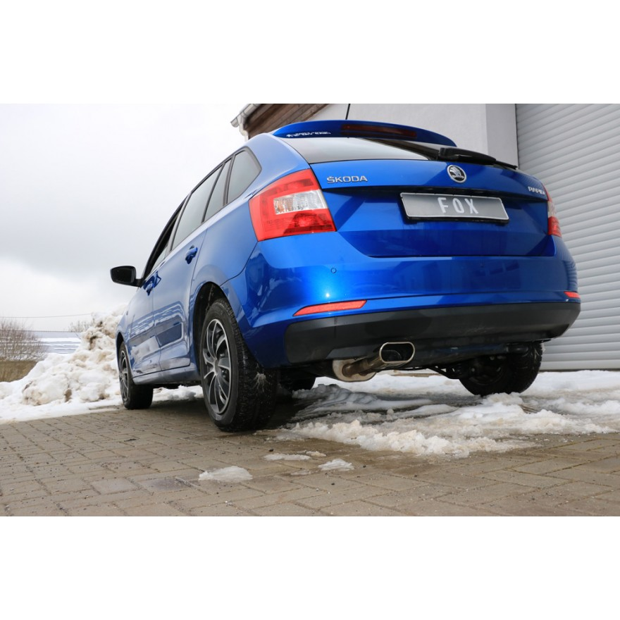 MPOQZI Auto Heckauspuff Endrohr Spitze Schalld/ämpfer Endverkleidung passend f/ür Audi A3 8P 09 10 11 2012