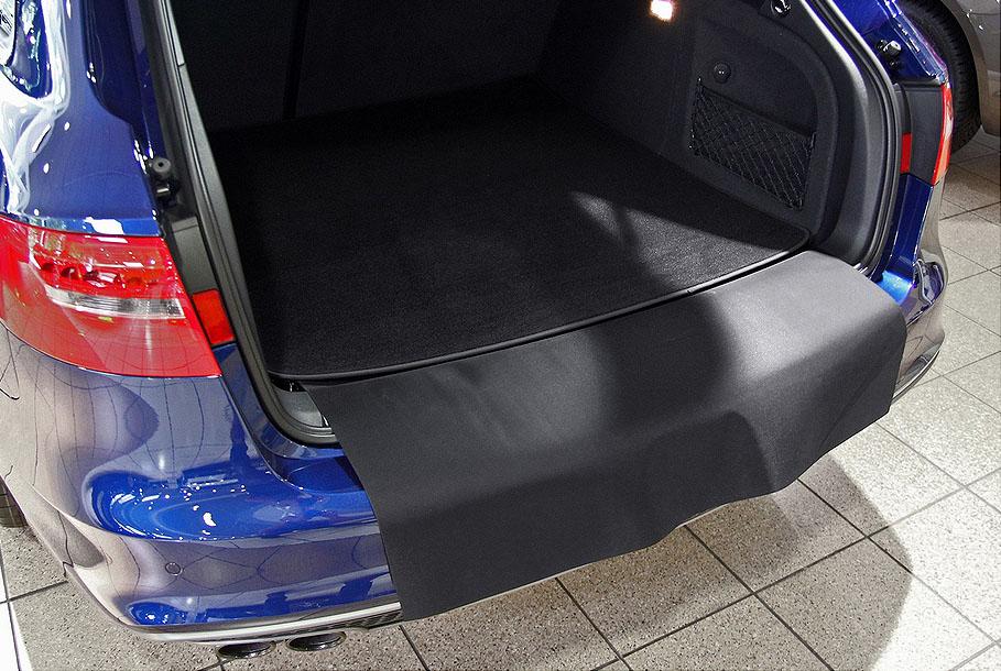 Kofferraummatte mit Ladekantenschutz für Skoda Kodiaq